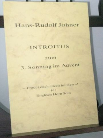 Johner H-R - Introitus on the 3rd Sunday in Advent